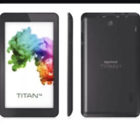 "HIPSTREET Titan 4 7"" Tablet QUAD CORE 8GB 1GB Ram Android 5.0 (Lollipop) - Black"