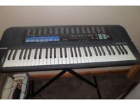 casio keyboard tonebank ct-670.includes stand and adaptor