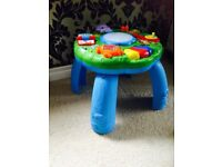 Leap frog activity play table