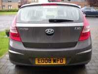 2008 Hyundai i30 1.6 Diesel 5dr Top Spec Very Economical, Parking Sensors, Heated Leather Seats, USB