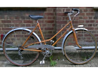 Vintage french dutch style bike BERNARD DANGRE - totaly unique only 1 in London - serviced warranty