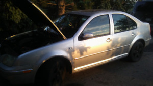 2001 2.0 jetta full part out