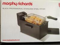 Morphy Richards stainless steel fryer