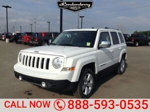 2013 Jeep Patriot 4WD LIMITED Leather,  Sunroof,