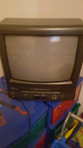 TV/VCR Combo with 50 Disney Movies