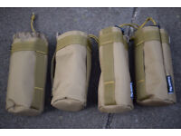 TWO - Coyote Molle Type Pouches New without tags