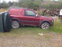 Vauxhall frontera x2