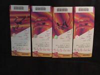 IAAF WORLD ATHLETIC CHAMPIONSHIPS TICKETS X4 - Fri 11th August