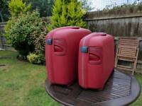 Samsonite Hard Suitcases - matching pair