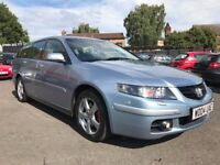 2004 HONDA ACCORD 2.2 CDTI EXECUTIVE * 10 MONTHS MOT + LEATHER UPHOLSTERY + SUN ROOF + TOP SPEC**