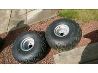 Atv/ quad trailer flotation wheels/ tyres