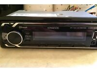 Kenwood Car Stereo with Bluetooth