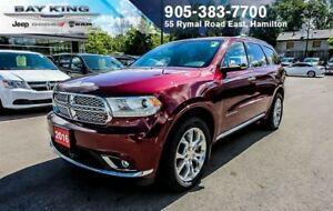 "2016 Dodge Durango CITADEL AWD, NAVI, 8.4"" DISPLAY, BLIND-SPOT,"