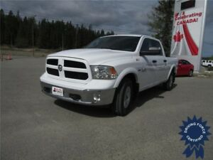 2015 Ram 1500 Outdoorsman Crew Cab 4x4 - 40,461 KMs, Short Box