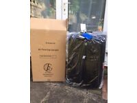 K2 Global 75cm Black suitcase with Trak lost luggage system