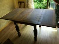 Oak dining table and chairs 1930 a great project for someone