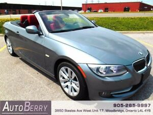 2011 BMW 3 Series 328i Convertible NAVI **ACCIDENT FREE** $22999