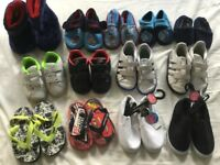 Boy's trainers, slippers, canvas shoes, flip flops
