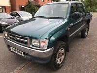 Toyota hilux mk4 pick up turbo diesel 12 months mot