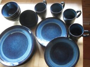 Dinner ware/ 4BigPlates, 4Small Plates, 4Bowls, 4Cups (WholeSet)