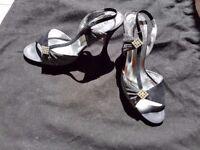Balizza black sling back shoes