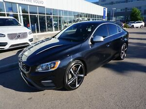2015 Volvo S60 T6 R AWD with Certified Pre-Owned Warranty!