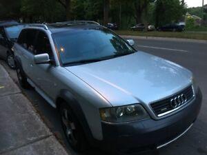 RARE - Audi Allroad - Manuelle 6 vitesses (+ 4 pneus d'hiver)