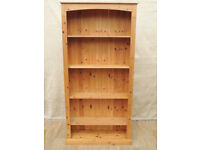 Solid Pine wooden Bookshelf (Delivery)