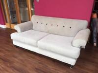 Grey DFS sofas