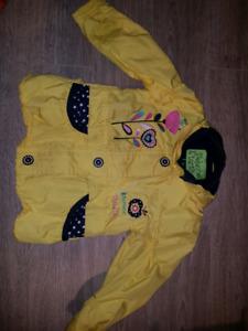 Manteau automne petite fille 3 ans