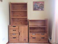 Solid pine children's bedroom furniture set