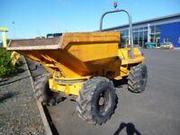 Benford 6 ton Swivel Skip Dumper