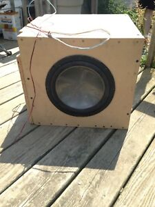 Home sub and car stereo