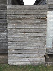Vintage Barnboard Door