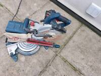Bosch single bevel sliding mitre saw