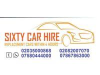UBER-Ready PCO Car Hire/Rental