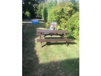 picnic bench 6ft