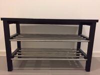 Bench with shoe storage - Ikea TJUSIG