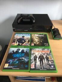 Xbox One Bundle - Console, Controller, Games and Charging Station
