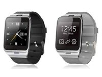 bluetooth smart watch ked with your smart phone)(sim card/ sd card)(water resistant