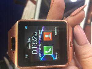 ANDRIOD BLUETOOTH WATCH (ROSE GOLD COLOR)