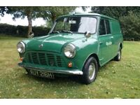 Austin mini classic van 850 1969 h not rover or morris