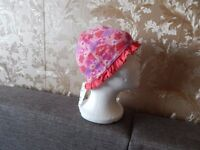 """Hat""""H&M""""Pink Mix Size: Eur 86/92 ,Age 1 - 2 Years New With Tags from Norway"""