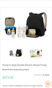 Medela (New Tubing) Pump in Style Double Pump Sterilized