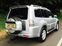 2010 Mitsubishi Shogun Elegance 3.2 DI-D LWB Auto,7 seats,trade in considered, credit cards accepted