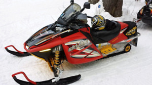 Beautiful well kept sled.Looking to trade for Seadoo.