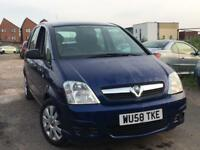VAUXHALL MERIVA 1.4 2009 + JUST 50,000 MILES + MOT TILL MARCH 2018 + GOOD CONDITION