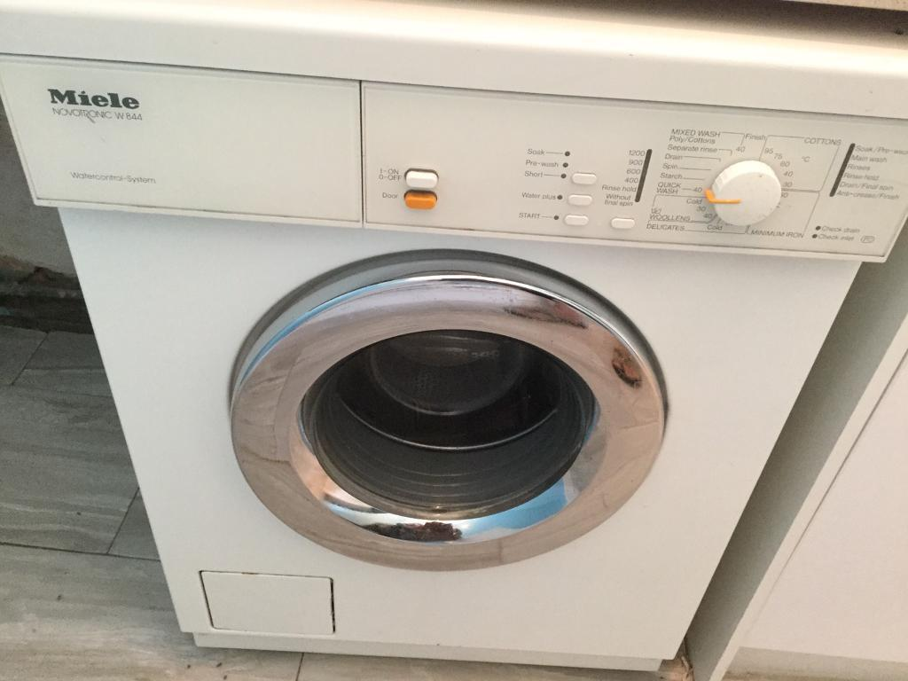 miele w844 washing machine in lincoln lincolnshire. Black Bedroom Furniture Sets. Home Design Ideas