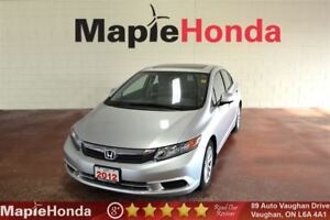 2012 Honda Civic EX| Sunroof, Bluetooth, Power Group!