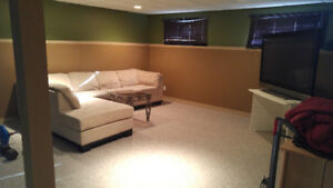 Large Basement with shared kitchen $800